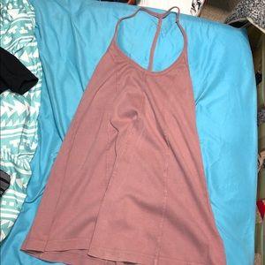 Blush Strappy Dress